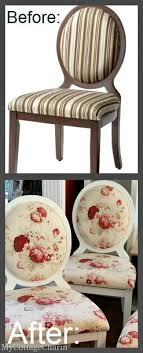 upholstered dining room chairs diy. how to upholster an oval back chair tutorial upholstered dining room chairs diy e