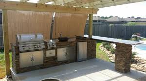 Outdoor Kitchen Gas Grill Outdoor Kitchens Backyard Paradise