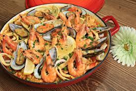 正宗西班牙海鲜饭的做法【图解】_正宗西班牙海鲜饭的家常做法_正宗西班牙海鲜饭怎么做_美食吧