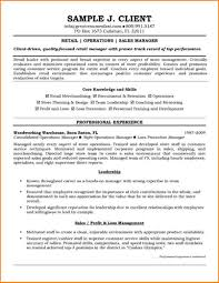 6 Retail Resume Template Free Skills Based Resume