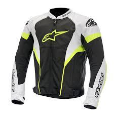 ausrüstung straße mann t gp plus r air schwarz weiß gelb fluo alpinestars