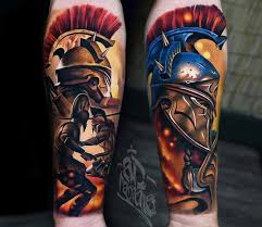 Gladiator Tattoo By Ad Pancho Post 28003