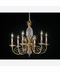quoizel qg500 pineapple 26 inch wide 5 light chandelier capitol within breathtaking quoizel pineapple chandelier