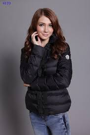 Moncler Clairy Leisure Down Jackets Women Round Neck Black,moncler down  jacket,moncler grenoble,Clearance