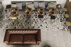 try terrazzo tile for stunning floor designs
