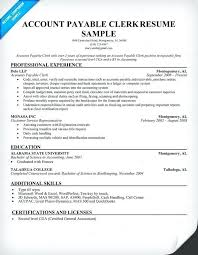 Accounts Receivable Resume Template Simple Resume Accounts Receivable Resume Template Within Accounts Payable