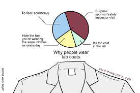 PHD Comics: Lab coat rationale