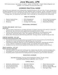 Sample Lpn Resume Licensed Practical Nurse Resume Sample Download
