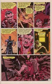 "facing reality out a mask examining a page from ""watchmen  alan moore words and dave gibbons illustrations watchmen chapter 2"