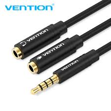 <b>Vention Earphone</b> Extension <b>Cable Jack 3.5mm Audio Cable</b> Male ...