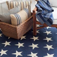 star indoor outdoor rug in navy ivory design by dash albert