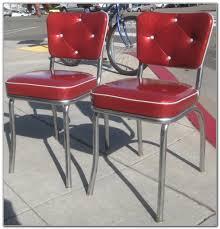 Red Retro Kitchen Retro Kitchen Chairs Red Cliff Kitchen