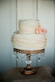 A simple or small cake can be made to look more expensive or more elegant  by using a tall cake stand with bling! This is my FAVe and what a beautiful  ...