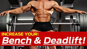 How To Increase Bench Press U0026 Deadlift KILLER Strength Training Increase Bench Press Routine