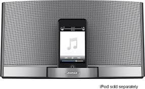 bose ipod dock. bose® - sounddock® portable digital music system for apple® ipod® black bose ipod dock
