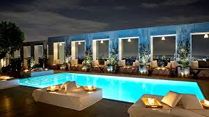 indoor pool bar. Skybar At The Mondrian Los Angeles Indoor Pool Bar