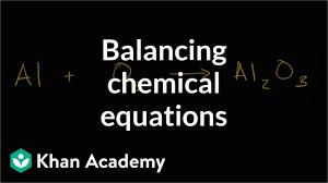 Simple Balances Balancing Chemical Equations How To Walkthrough Video