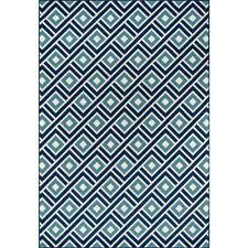 momeni baja blue 9 ft x 13 ft indoor outdoor area rug baja0baj 7blu860d the home depot