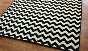 black and white chevron rug chevron rug