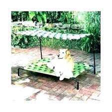 Outdoor Dog Furniture Outdoor Dog Bed With Canopy Outdoor Dog Bed ...