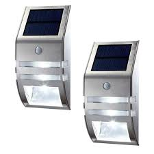 Solar Powered Automatic Lights Oxyled 2 Pack Solar Powered Automatic Motion Sensor Super