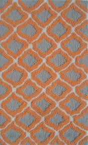 the rug market pop accents marrakeshpa0015orangegreywht rugs in usa