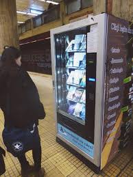 Readomatic Vending Machine Fascinating Book Vending Machine Chapter Two Books Abroad