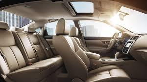 2017 nissan altima interior beige leather original