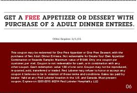 Red Lobster Free Coupons 2016 Free Samples Printable Coupons