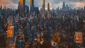 City [4K]: wallpapers