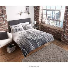 double bed set innovative 287653 new york city scene duvet