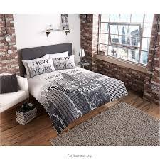 double bed set innovative 287653 new york city scene duvet