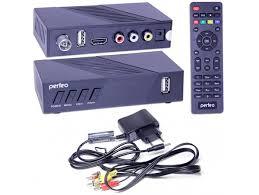 Купить <b>PERFEO STREAM</b>-2 <b>DVB</b>-<b>T2</b>/C ресивер эфирный+ ...