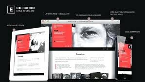 Art Gallery Website Templates From Responsive Free Download