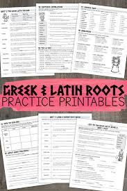 Greek And Latin Roots Book 2 Latin Root Words Teaching
