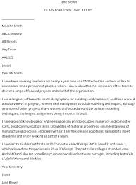 Cad Technician Cover Letter Example Learnist Org