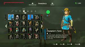 Zelda Breath Of The Wild Guide How To Upgrade The