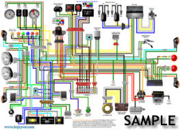 bsa a50 a65 1968 firebird colour electrical wiring diagram bsa a50 a65 1968 firebird colour wiring diagram