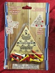 Wooden Triangle Peg Game Triangle Peg Game Classic Wooden Puzzle Brain Teaser IQ Game 40