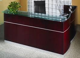 office reception table. Mayline Napoli Office Furniture Reception Desk Table U