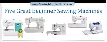 Great Beginner Sewing Machines