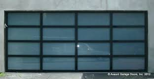 glass panel garage doors glass garage doors full view glass garage door with black anodized aluminum