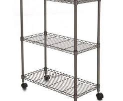 3 tier wire shelving with wheels most homdox 23 4 x 11 7 x 33 5 inch 3