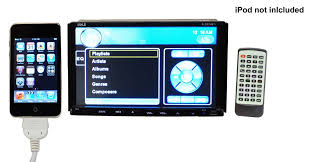 amazon com pyle pldn74bti double din tft touchscreen 7 inch click here for a larger image