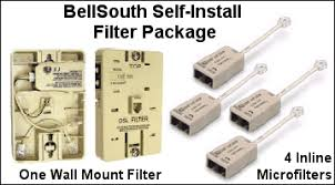 at&t southeast forum faq dslreports, isp information Bellsouth Complete Hook Up Wiring Diagram important installation note the bellsouth supplied dual line filters have two outputs one line out is marked \