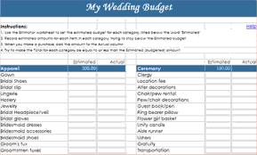8+ Sample Wedding Budget | Procedure Template Sample