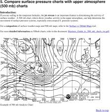How To Analyze Synoptic Scale Weather Patterns Table Of