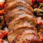 baked pork roast