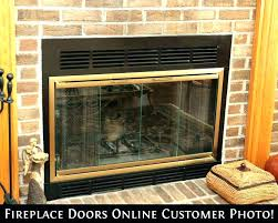 gas fireplace replacement. Gas Fireplace Door Enclosures Front Replacement Clearance