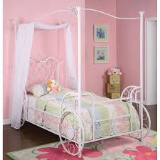 aluminum canopy with bed minky heavenly soft dot